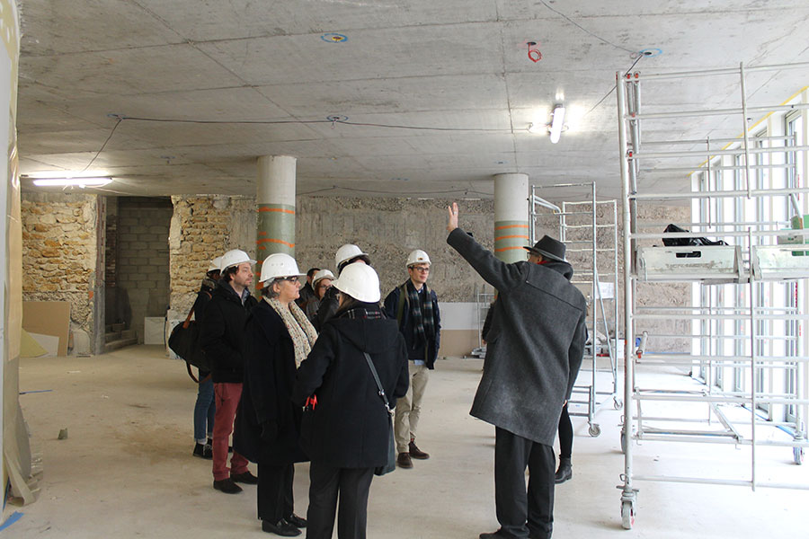 chantier immobilier - foyer de l'auditorium