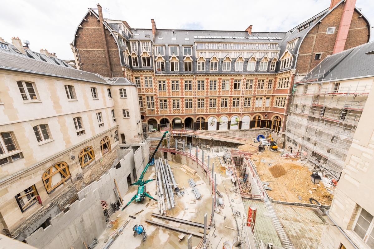 Transformation campus - rectorat