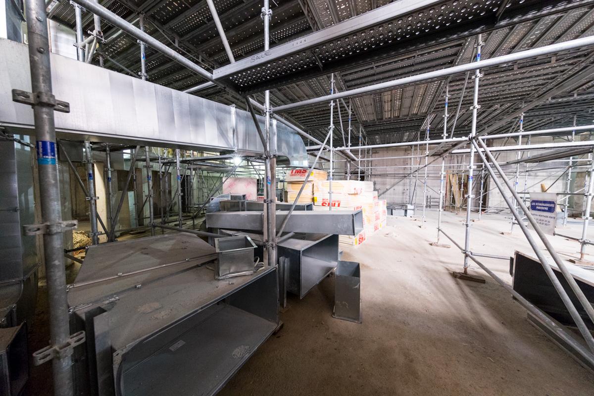 Bâtiment intérieur -Sept. 2016