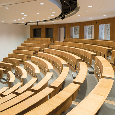 Un nouvel auditorium de 400 places